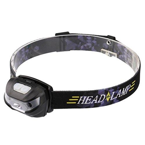 HCFKJ Mini Wiederaufladbare LED Scheinwerfer 3000LM Körper Motion Sensor Scheinwerfer Camping Taschenlampe Kopf Taschenlampe Lampe Mit USB (Camping Motion Sensor)