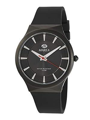Reloj Marea Analógico Hombre B54154/1 Correa de Silicona Negra