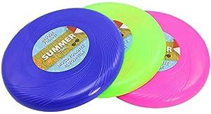 com-four® 3X Frisbee für Kinder und Erwachsene - Wurfscheibe auch für Hunde -...