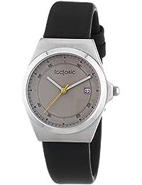 Tectonic 41-1103-84 - Reloj de cuarzo para mujeres, color negro