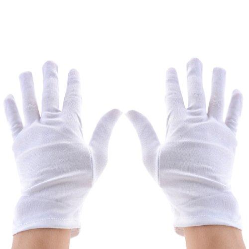 Sourcingmap a13061000ux1678 - Joyería dedo guantes de trabajo de inspección reloj completo...