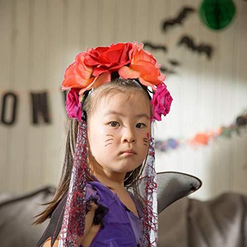 Luau Frisuren - RecoverLOVE Mexikanische Blumenkrone Frauen und Mädchen
