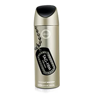 Armaf Tag Him for Men Deodorant 200ml/6.6FL.O.Z