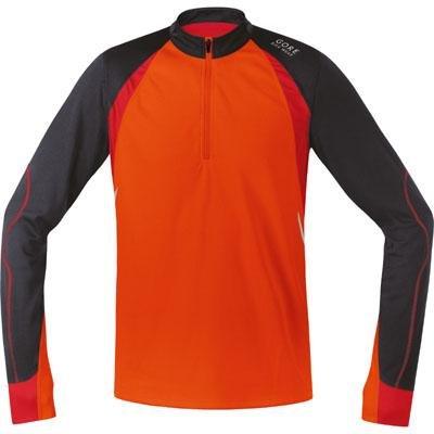 Fusion Radtrikot (Gore Bike Wear Fusion Langarm Radtrikot, Orange/Braun XL Naranja/marrón (Blaze orange/Raven Brown))