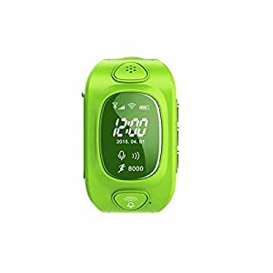 Kobwa Smart Watch F 252 R Kinder 0 96 Zoll Gps Tracker Wecker