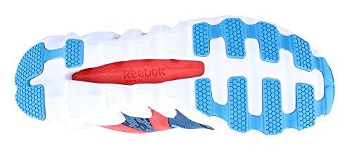 Reebok Zig Big N' Fast Fire Gr Synthetik Laufschuh Blue/Red/Navy