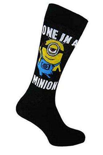 Para hombre calcetines de los Minions