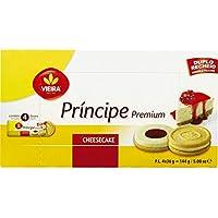 Vieira Príncipe Premium Doppel Gefüllte Waffeln mit Zitrone Käseverpackung 144 g
