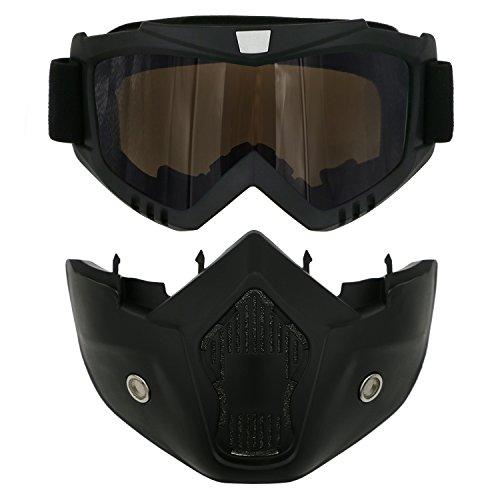 Zoom IMG-1 tedgem maschera per snowboard sci