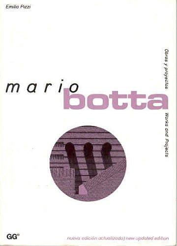Mario Botta (Obras y Proyectos) por Emilio Pizzi