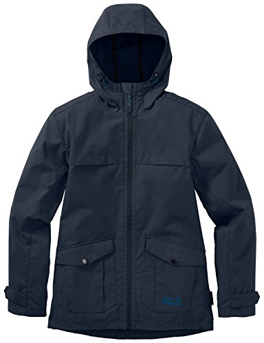 Jack Wolfskin Jungen Jacke Amber Road F65 Jacket B, Night Blue, 152-158, 1605211-1010603