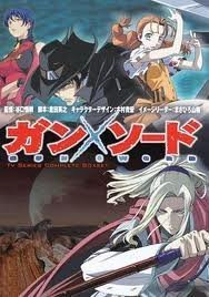 Gun X Sword Tv Series 1-26 End by Gun X Sword Anime's Staff