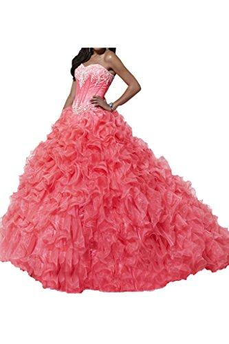 Missdressy - Robe - Femme - Wassermelone