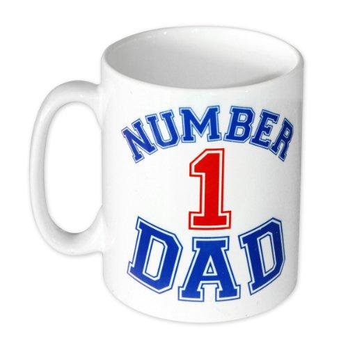 Día del padre - Number 1 Dad Taza de cerámica en caja...