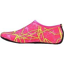 Goodsatar Calcetines del agua, Zapatos unisex de la piel del agua Baja arriba Buceo Buceo Calcetines de playa Buceo Calcetines de Snorkel Zapatos del fútbol ...