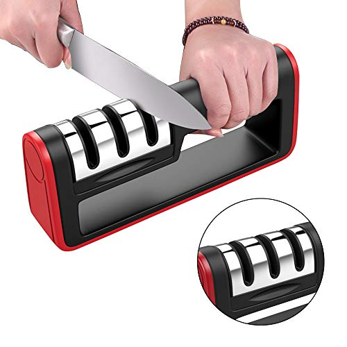3 Etapa Manuales Afilador de Cuchillo