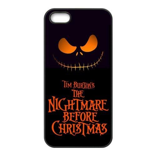 """Fine pour apple iPhone 5/5S """"dur the nightmare before christmas housse de protection pour accessoires apple iPhone 5/5S"""