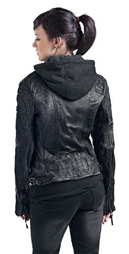 Gipsy chasey LDDV veste en cuir pour femme Noir - Noir (1)