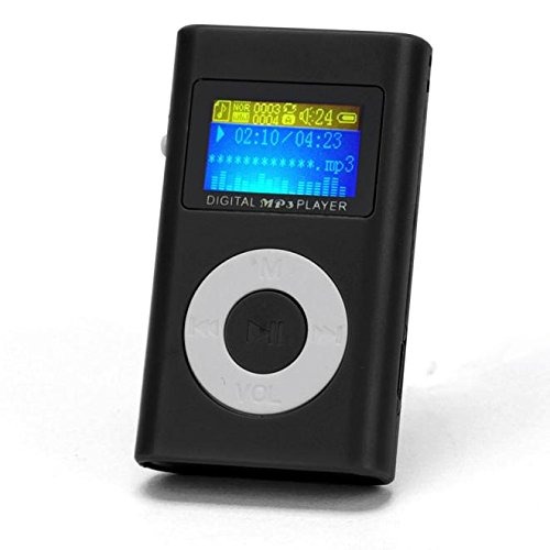 OSYARD MP3 Player,Musik Player,Tragbare Mini USB MP3-Player Kunststoff Kartenleser Touch-Taste Verlustfreie Sound Kinder Musik Player mit LCD Bildschirm Unterstützt 32 GB Micro SD TF-Karte