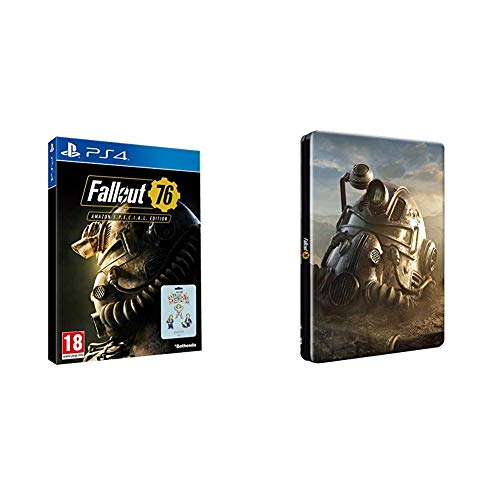 Fallout 76 Amazon S.*.*.C.*.*.L. Edition (Edición Exclusiva Amazon) + Steelbook (Edición Exclusiva Amazon)