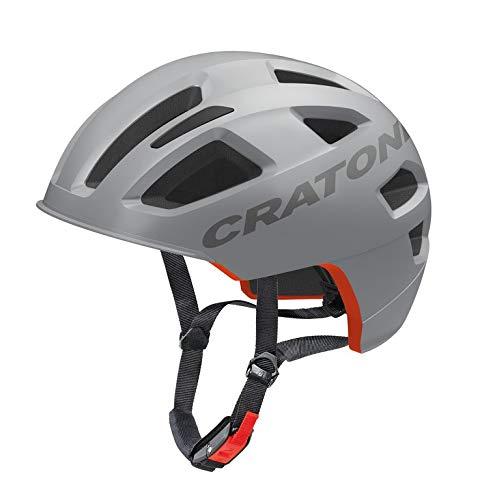 CRATONI 111912D1 Fahrradhelm Cratoni C-Pure (City) Gr. S/M (54-58cm) grau matt (1 Stück)