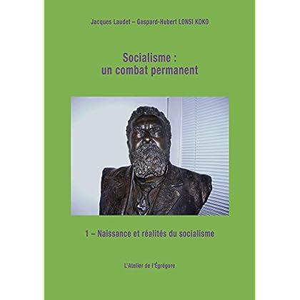 Socialisme : un combat permanent: Tome 1 : Naissance et réalités du socialisme (Démocratie & Histoire)