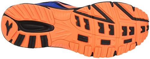Diadora Raid 3, Chaussures de Course Homme Bleu (Azzurro/arancio)