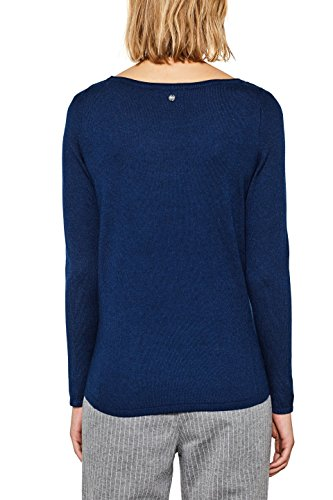 ESPRIT Damen Pullover Blau (Ink 5 419)