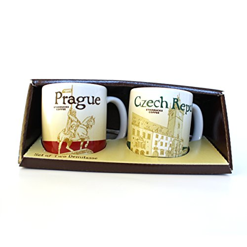 starbucks-city-mug-demi-tazze-prague-praga-repubblica-ceca-espresso-set-2-pezzi