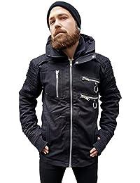Vixxsin Salute Jacket Mens Black Size XL