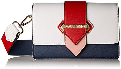 Mario Valentino - Borsa da donna Nautica, 9 x 12 x 19,5 cm, Multicolore (Mehrfarbig (Blu/Multicolor)), 9.0x12.0x19.5 cm (B x H x T)