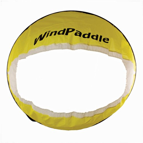 Windpaddle Kanu & Kajak Segel Adventure Sail Gelb gelb