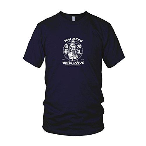 (Pai Mei's School - Herren T-Shirt, Größe: XL, dunkelblau)