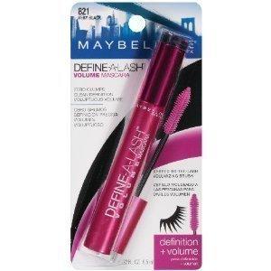 (3 Pack) Maybelline New York Define-a-lash Lengthening Waterproof Mascara, Very Black 821, 0.22 Fluid Ounce by MAYBELLIN