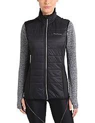 Ultrasport Endurance Kesgrave - Chaleco para mujer, color negro, talla 44