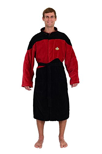Star Trek Next Generation Red Command Robe