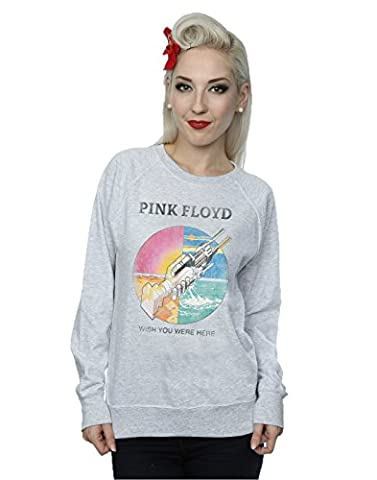 Pink Floyd Femme Wish You Were Here Prism Sweat-Shirt Small Heather Gris