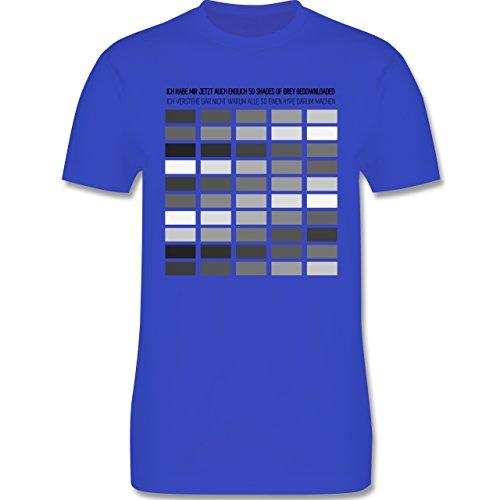 Statement Shirts - Ich habe Shades of grey gedownloaded - Herren Premium T-Shirt Royalblau