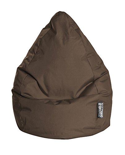 MAGMA Sitzsack Brava Beanbag braun (Größe: XL, 220 l)