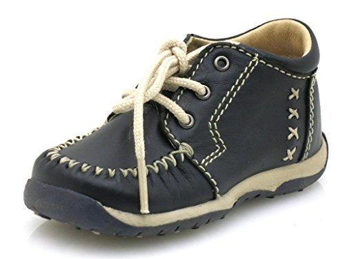 Giesswein Schnürschuhe Lederschuhe Lauflerner Leder Schuhe Patsch Knöchelschuhe Dunkelblau