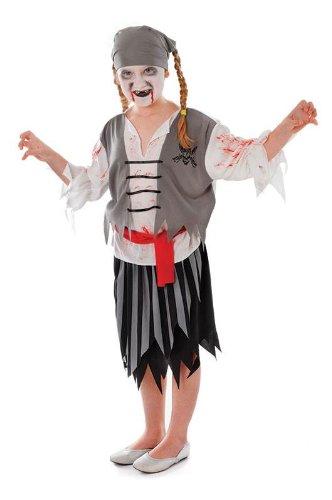 Zombie Pirate Girl (Kid Kostüme Zombie)