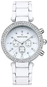 Timothy Stone Women's DÉSIRE White Watch