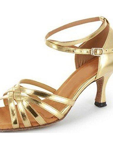 La mode moderne Sandales femmes personnalisés haut en simili cuir Chaussures de danse latine et Salsa pour US5/EU35/UK3/CN34