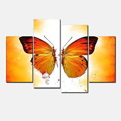 LIVEXDD 4 Pieza impresión Lienzo artística Pintura