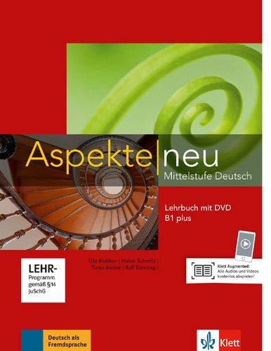 Aspekte. Lehrbuch. Per le Scuole superiori. Con DVD-ROM. Con espansione online: Aspekte neu b1+, libro del alumno + dvd