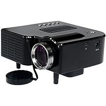 Generic Modelo UC28+ Portátil Mini Projector Proyector LED LCD HDMI SD USB 1080P FHD Video Teatro Hogar UE