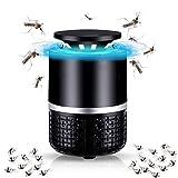 Insektenvernichter Elektrisch,Elektrischer Insektenvernichter UV Insektenfalle Mückenlampe,Insektenfalle Lampe, Stummschaltung, Keine Strahlung ungiftig, für Innen