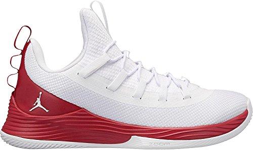 Jordan Nike Herren Ultra Fly 2 Low Weiß Textil/Synthetik Basketballschuhe 42,5 (Nike Fly Jordan)