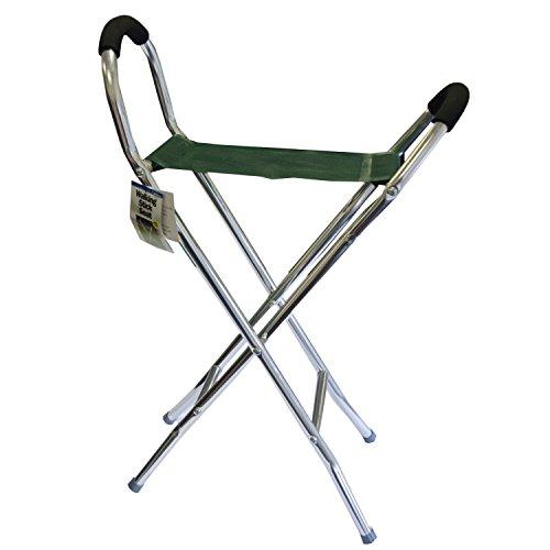 Bastón plegable taburete/silla–ligero marco