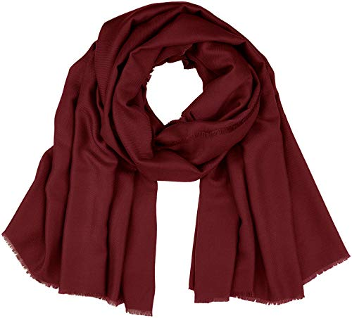 PIECES Damen PCKENJA LONG SCARF NOOS Schal, Rot Winetasting, One Size